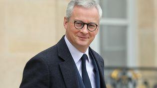 Bruno Le Maire, le 5 décembre 2019 à l'Elysée. (LUDOVIC MARIN / AFP)