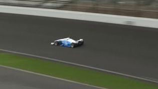 Formule 1 : une course de voitures sans pilote sur le circuit d'Indianapolis   (FRANCE 3)