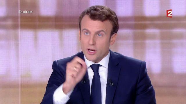"""Présidentielle : """"Le parti des affaires, c'est le vôtre, pas le mien"""", assène Macron à Le Pen"""
