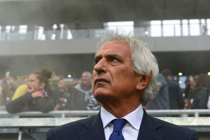Vahid Halilhodzic, le nouveau coach de Nantes (NICOLAS TUCAT / AFP)