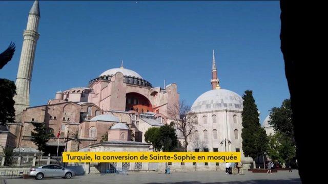 Turquie : l'ancienne basilique Sainte-Sophie va devenir une mosquée