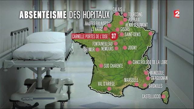 Santé : les hôpitaux rongés par l'absentéisme