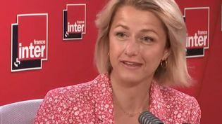 Barbara Pompili, ministre de la Transition écologique, invitée de France Inter jeudi 23 juillet 2020. (FRANCE INTER / RADIO FRANCE)