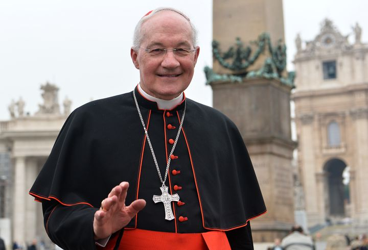 Le cardinal canadien Marc Ouellet au Vatican le 5 mars 2013. (ALBERTO PIZZOLI / AFP)