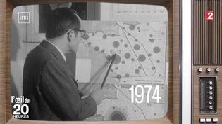 Capture d'écran d'un sujet évoquant les 50 années de concertation sur le projet d'aéroport de Notre-Dame-des-Landes. (INA / FRANCE TELEVISIONS)