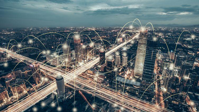 Les GAFAM vont-ils mettre la main sur nos villes ? Photo d'illustration. (GETTY IMAGES)