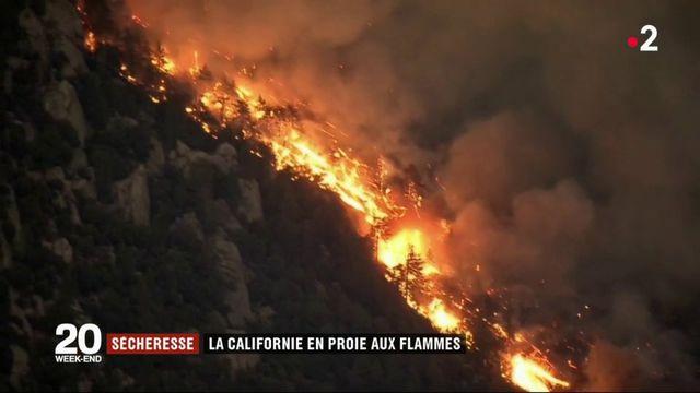 La Californie se bat contre un terrible incendie