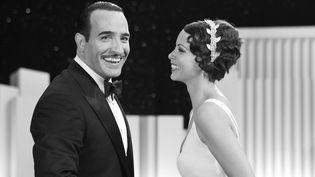 """Jean Dujardin et Bérénice Béjo dans """"The Artist"""". Le film de Michel Hazanavicius a fait un triomphe à l'étranger en 2012  (Kobal / The Picture Desk / AFP)"""