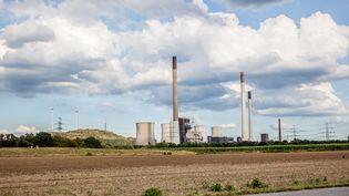 Une centrale électrique à Scholven, en Allemagne, en août 2020. (FOTOSTAND / K. SCHMITT / FOTOSTAND)