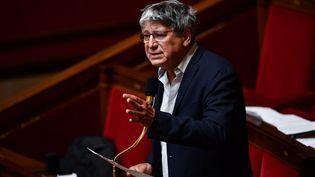 Eric Coquerel, à l'Assemblée nationale, le 26 mai 2020. (CHRISTOPHE ARCHAMBAULT / POOL)