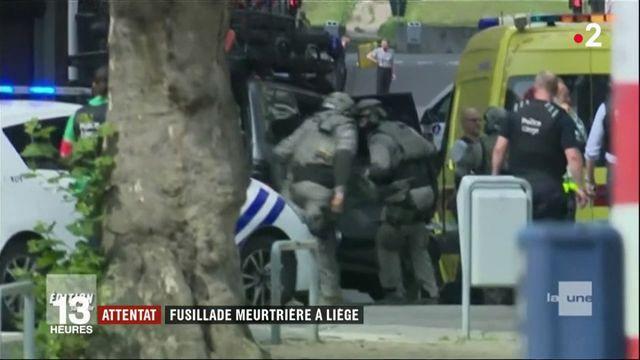 Belgique : avant d'être abattu, un homme fait trois morts à Liège