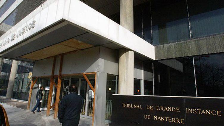 L'entrée du Tribunal de grande instance (TGI) de Nanterre (photo archive)