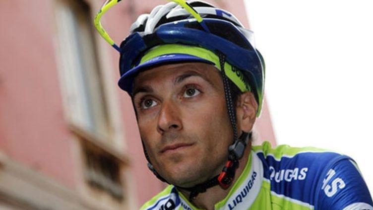 Ivan Basso pendant le Tour 2011