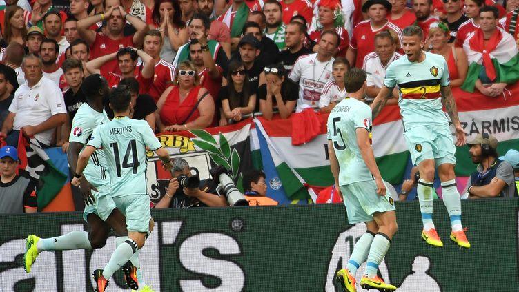 Toby Alderweireld a ouvert le score pour la Belgique contre la Hongrie