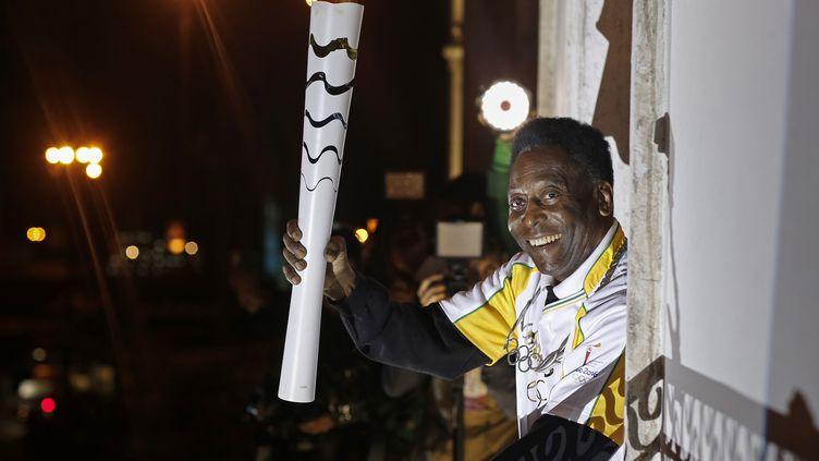 Le footballeur était pressenti pour allumer la vasque olympique lors de la cérémonie d'ouverture (RIO 2016 / ANDRE LUIZ MELLO / RIO 2016 / ANDRE LUIZ MELLO)