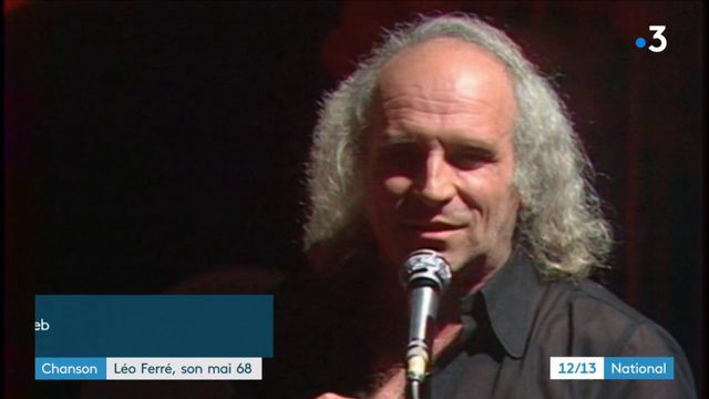 Chanson : Léo Ferré, son mai 68