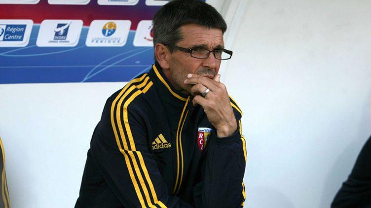 Rudi Garcia, entraîneur déçu (DEPLHINE PINEAU / MAXPPP)