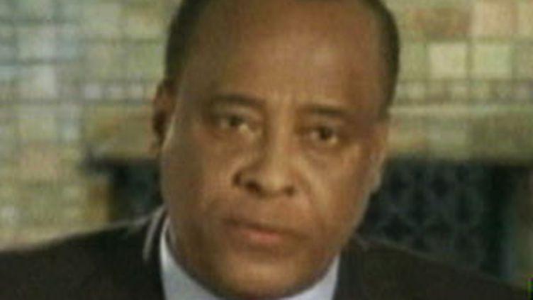Le Dr Conrad Murray, le médecin personnel de Michael Jackson (France 2)
