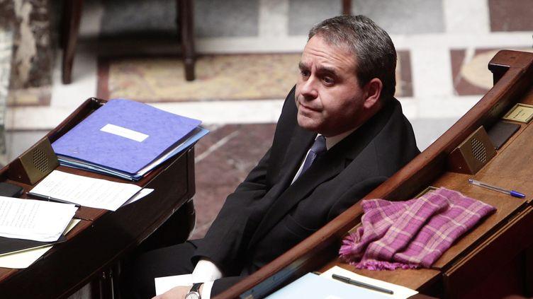Le ministre du Travail, Xavier Bertrand, à l'Assemblée nationale, le 30 novembre 2011. (VINCENT ISORE / IP3 PRESS / MAXPPP)