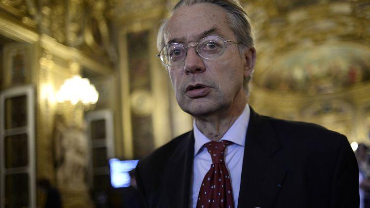 Philippe Marini, maire Les Républicains de Compiègne (Oise), le 28 septembre 2014 à Paris. (STEPHANE DE SAKUTIN / AFP)