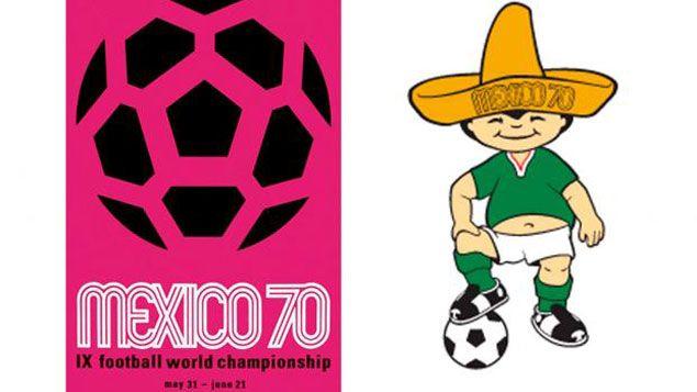 (Juanito, la mascotte du Mondial 1970 au Mexique © Fifa)