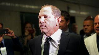 L'ancien producteur de cinéma, Harvey Weinstein, arrive dans un tribunal de New York (Etats-Unis), le 26 août 2019. (YANA PASKOVA / GETTY IMAGES NORTH AMERICA / AFP)