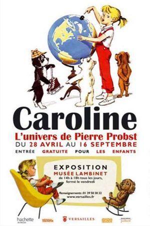 L'affiche de l'exposition Caroline au musée Lambinet.  (Musée Lambinet)