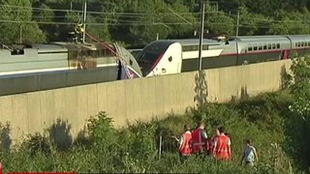 Un TGV Marseille-Paris évacué à cause d'un incendie