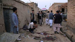 Un kamikaze s'est fait exploser devant un centre éducatif de Kaboul (Afghanistan), le 24 octobre 2020. (AFP)