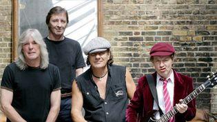 AC/DC désormais sans Malcolm Young, en congé du groupe pour raisons de santé.  (DR)