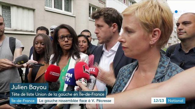 Ile-de-France : la gauche unie derrière Julien Bayou fait face à Valérie Pécresse