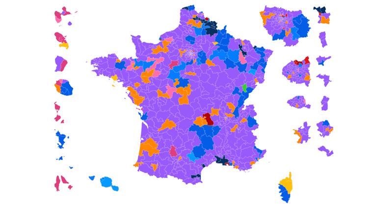 CARTE. Législatives : découvrez les résultats du premier tour dans votre circonscription (NICOLAS ENAULT / CARTO)