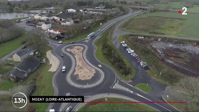 """Loire-Atlantique : un rond-point """"cacahuète"""" à l'efficacité redoutable"""