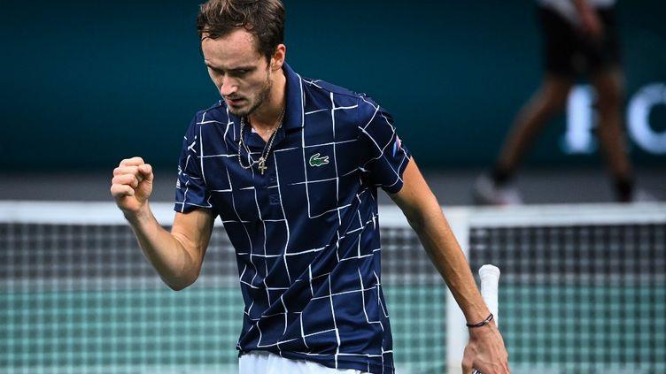 Le Russe Daniil Medvedev succède à Novak Djokovic au palmarès du tournoi parisien (ANNE-CHRISTINE POUJOULAT / AFP)
