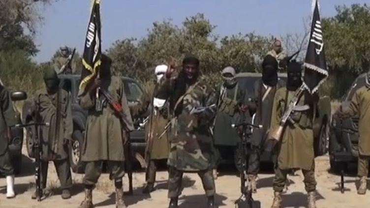 Capture d'écran de la vidéo de Boko Haram, diffusée le 31 octobre 2014. ( BOKO HARAM / AFP)
