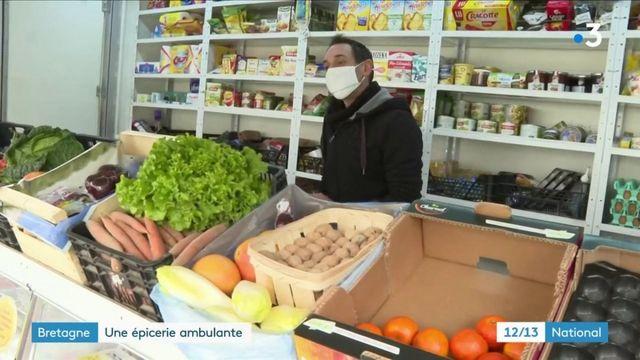 Bretagne : une épicerie ambulante au service des publics isolés