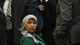Nafissatou Diallo le 10 décembre 2012 à New York. (SETH WENIG / POOL / AFP)