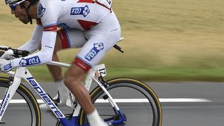 Le coureur Thibaut Pinot (FDJ) lors de la cinquième étape du Tour de France 2015, mercredi 8 juillet. (REUTERS)