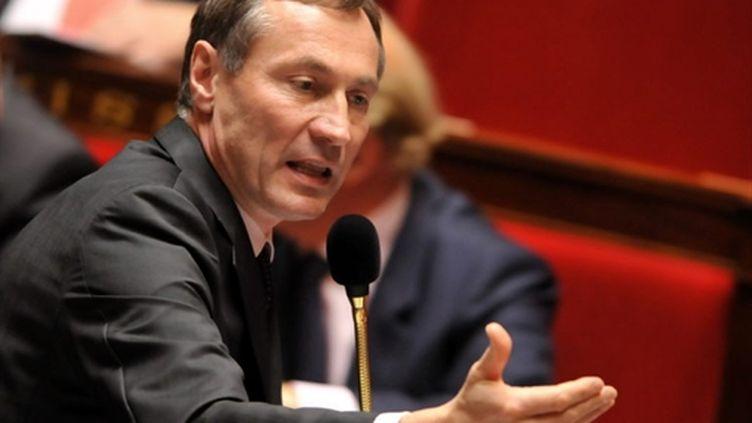 Le secrétaire d'Etat à la Justice Jean-Marie Bockel à l'Assemblée nationale. (AFP - Bertrand Gay)