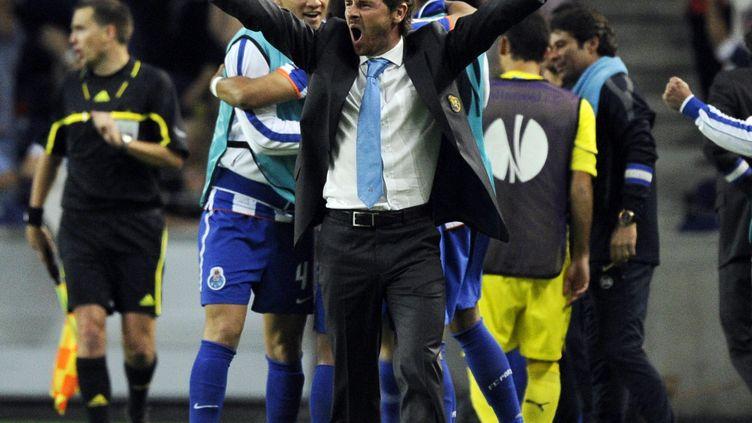 André Villas-Boas est un grand supporter du FC Porto (JAVIER SORIANO / AFP)