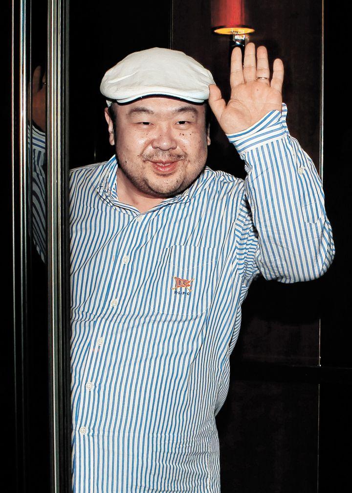 Kim Jong-nam, le demi-frère du leader nord-coréen Kim Jong-un, le 4 juin 2010 à Macau. (JOONGANG ILBO / AFP)