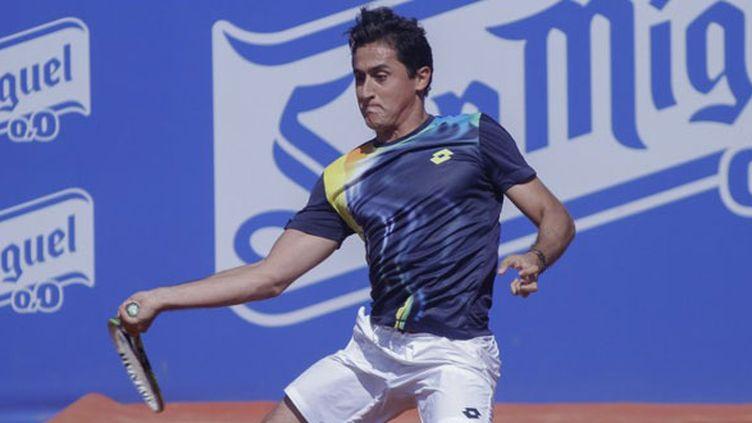 Le joueur espagnol Nicolas Almagro