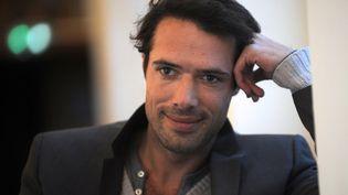Nicolas Bedos, le 11 mars 2013 à Paris. (FRANCOIS LO PRESTI / AFP)