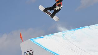 Le snowboarder canadien Mark McMorris, le11 février, lors des Jeux olympiques dePyeongchang. (LOIC VENANCE / AFP)