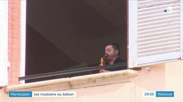 Montauban : des musiciens proposent des concerts depuis leurs fenêtres