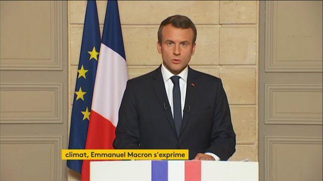 """REPLAY. """"Les Etats-Unis ont tourné le dos au monde"""", lâche Emmanuel Macron"""