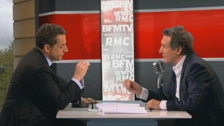 Capture d'écran BFMTV. (CAPTURE D'ECRAN BFMTV)