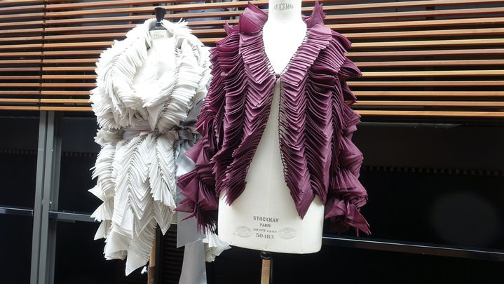 Maurizio Galante haute couture automne-hiver 2017, à Paris..  (Corinne Jeammet)