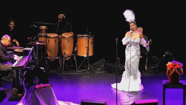Jussanam est Joséphine Baker à Cannes  (France 3 Culturebox Capture d'écran)