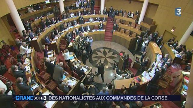 Corse : les nationalistes au pouvoir